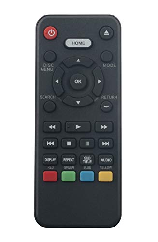 NC092UL Replaced Remote Commander Compatible with Sanyo Blu-ray Disc Player FWBP506FF FWBP507FF FWBP505F FWBP505FK FWBP505FN FWBP505FP FWBP505FQ