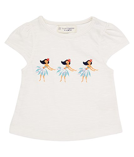 SENSE ORGANICS Laisha T-Shirt, Blanc (RFD 800000), 68 (Taille Fabricant: 3M) Bébé Fille