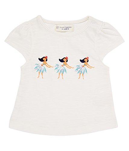 SENSE ORGANICS Laisha T-Shirt, Bébé Fille, Blanc (RFD 800000), 68 (Taille Fabricant: 3M)