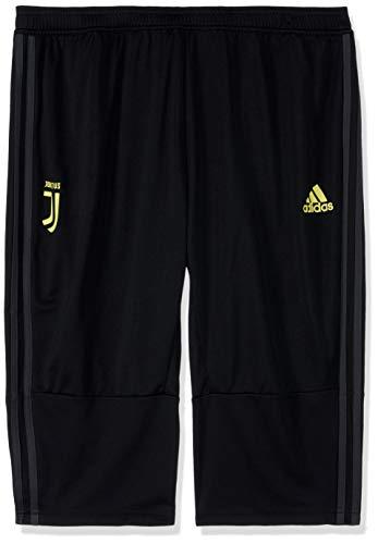 adidas JUVE 3/4 PNT - Pantalón Pirata Juventus, Hombre, Negro(Negro/ARCILL)