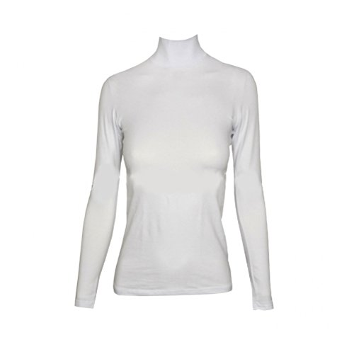 lupetto donna manica lunga JADEA art. 4057 (l/xl, bianco)