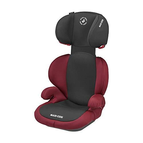 Maxi-Cosi Rodi SPS Kindersitz, Mitwachsender Gruppe 2/3 Autositz (15-36 kg), Nutzbar ab 3,5 bis 12 Jahre, Basic Red (rot)