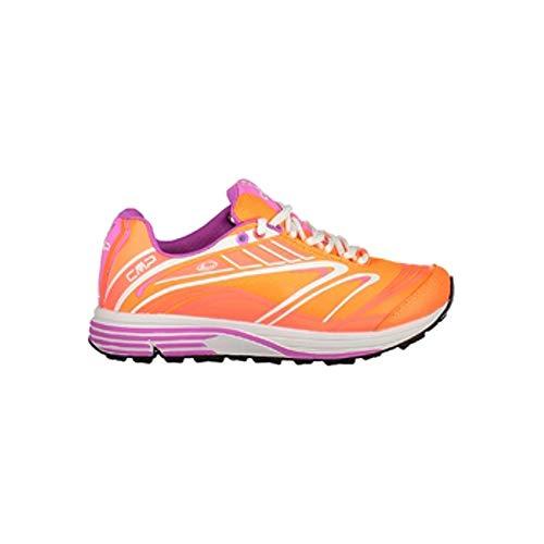 CMP Chaussures de Course Chaussures de Sport Maia WMN Sentier Chaussures Orange Léger Plaine Nylon - C645 Orange Fluo, 38 EU