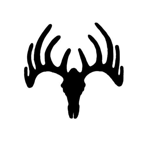 Mrlwy 3 pièces 15 * 14.5 cm Deer Buck Antlers Caccia Decal Sticker Car Truck Moto Vinile Car Wrap Decor Decalcomanie da parete
