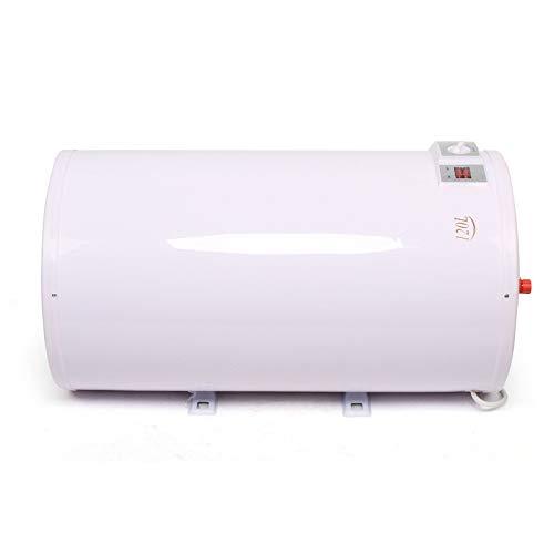 Futchoy Calentador de agua eléctrico (120 L, suspensión vertical, 30-75 ℃, 220 V, 2 kW), color blanco