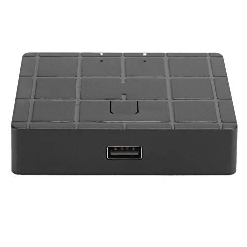 143 Conmutador, conmutador de 2 Puertos Accesorio de Impresora para Impresora USB/escáner/ratón/Teclado/Disco Duro móvil, para Compartir Equipo USB con hasta 2 Ordenadores