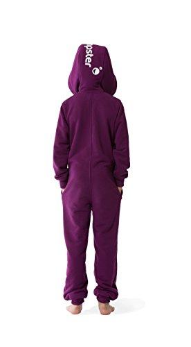 Jumpster Jungen und Mädchen Jumpsuit Kinder Overall Kids Deepest Purple - 2