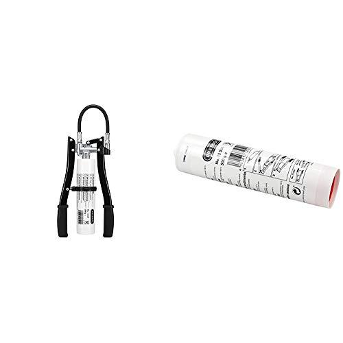 PRESSOL 12849 Zweihandfettpresse ZHFP mit variablem Hub & 12524 Schraubkartusche 500 g zu Zweihandfettpresse ZHFP