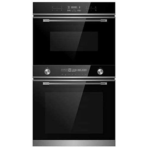31wnTMPnrOL. SS500  - Cookology 72L Built-In Electric Oven & 44L Compact Microwave Oven Pack