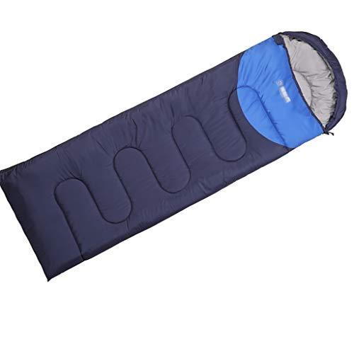 Outdoor slaapzak slaapzakken voor volwassenen 3 seizoenen camping warm lichte versterkte envelop slaapzakken 220 * 75 cm A4.