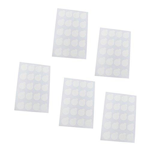 100pcs Cils Colle Jetables Tampons De Colle D'extension Porte-Palette De Cils