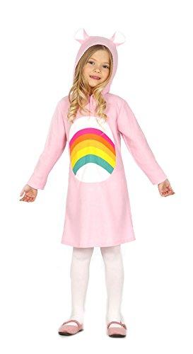 Guirca - Disfraz de osito arcoíris, para niños de 3-4 años, color rosa (83203)