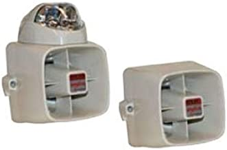 POTTER ELECTRIC SIGNAL SSX52SB 15w Siren/Strobe - Blue