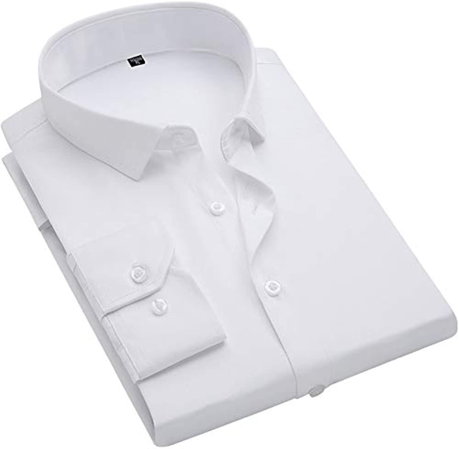 Men's Business Shirt  Solid colord