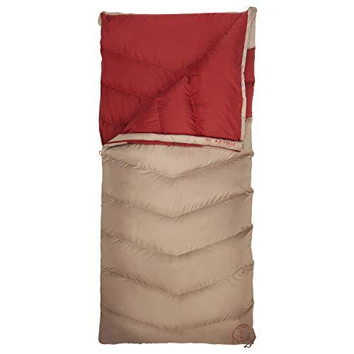 Kelty Galactic Down 30 Grad 600 Fill DriDown Rucksack- und Camping-Schlafsack für Damen und Herren