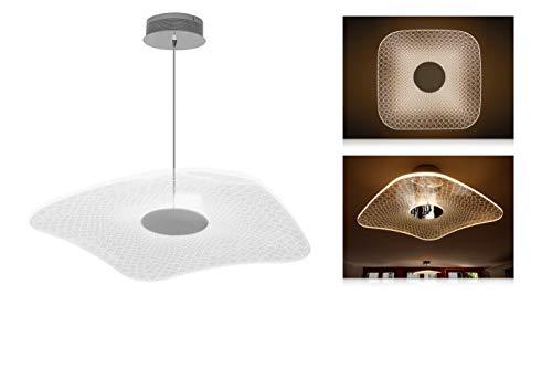 Suspension LED egloo, cctk : 2800 K de K, 19 W