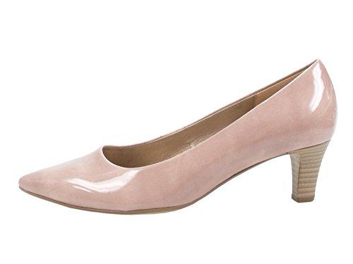 Gabor 91-350 Schuhe Damen Pumps Weite F Lack, Schuhgrš§e:38.5 EU, Farbe:Rosa