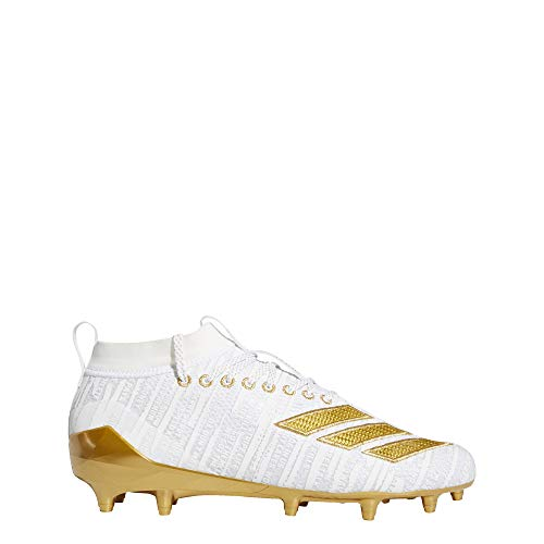 adidas Adizero 8.0 Cleats Men's, White, Size 8.5