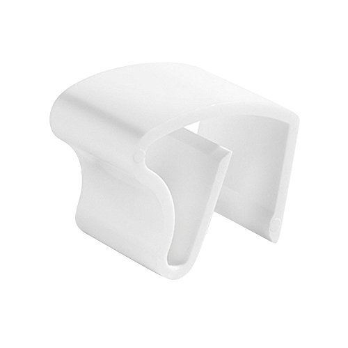 Sonnenschutz-HH 10 Stück Jalou-klick - Klemmträger aus Kunststoff für Aluminium Alu-Jalousien - Farbe: Weiss - Aluminiumjalousien - Jalousien - Alu Jalousien (10er Set = 10 Stück Klemmträger)