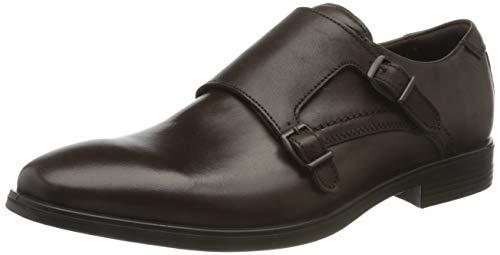 ECCO Herren Melbourne Endor Monk-Strap Loafer, Braun (Cocoa Brown), 45 EU