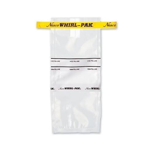 lot de 100 75/mm x 185/mm 100/ml Whirl-pak B01040wa Sacs avec sodium Thiosulphate