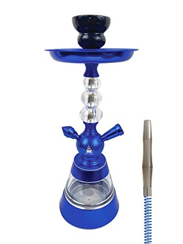 Cachimba Céleste Junior Hookah - TREET liso, color azul