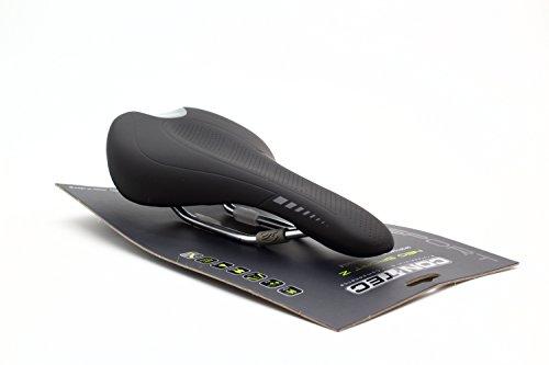 CONTEC MTB-/racezadel NEO Sport Z Active SB-verpakt, high-density schuim, O-zone resistente en lichte kunststof-kernschaal voor het veren van contactzones, O-zone in de zadelschaal ter vermindering van de drukbelasting op prostaat