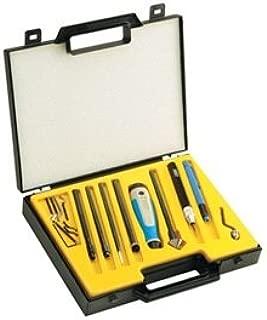 NOGA NG9400 Gold Box Set INCLUDES: (1) NG-3 handle.(1) Adjustable scraper.(1) Plastic edge off handle.(1) Each of holders S, N, C, D & K.(1) Each of blades N1, N2, S10, S20, S30,S150, D66, C20, D50, N80K & 10.4mm