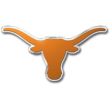 FANMATS NCAA University of Texas Longhorns Chrome Team Emblem