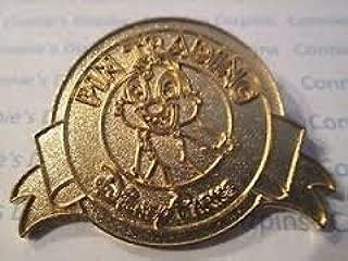 Gold Chip Pin Trading Disney Pin