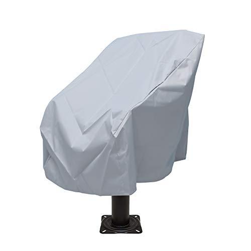 Hangrow Bootsstuhl-Schutzhülle, wasserdicht, Bootssitzbezug, Bootskapitänsstuhl, Abdeckung für Outdoor