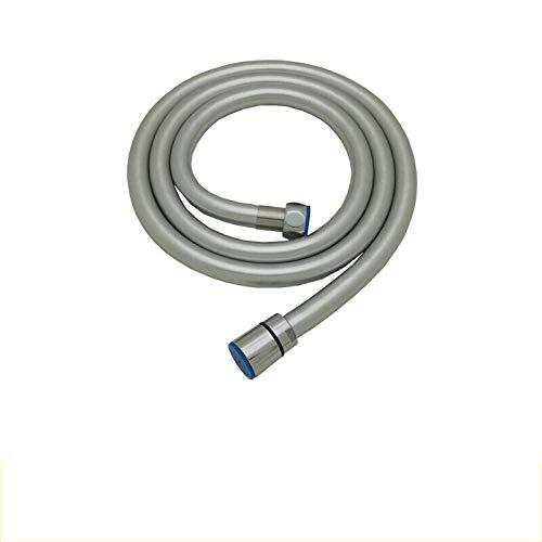 Kutera Brauseschlauch PVC-Brauseschlauch Schlauchbrausezubehör Explosionsgeschütztes, hochtemperaturbeständiges, glattes Duschrohr 6m