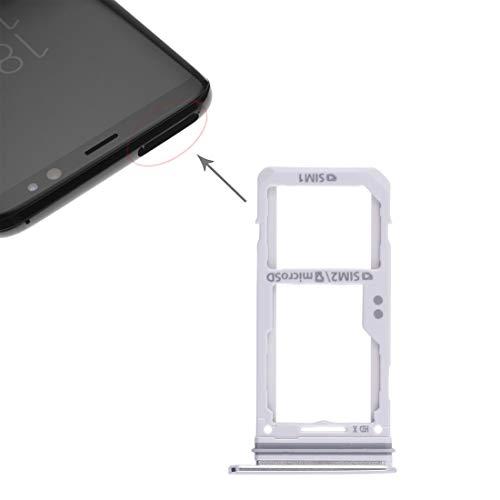 meihansiyun Accesorios de un teléfono 2 Bandeja de Tarjeta SD/Micro Bandeja de Tarjeta SIM for Galaxy S8 / S8 + Accesorios (Size : Spa0451s)