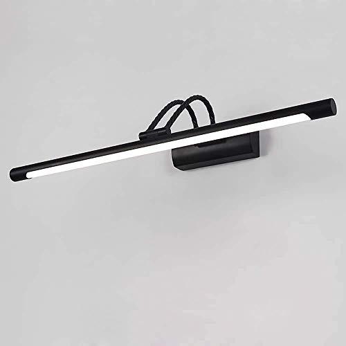 Elegante lámpara de techo colgante mágica de metal ajustable de 11 W, lámpara de espejo negro, lámpara de pared de acrílico impermeable, bonita y elegante, moderna