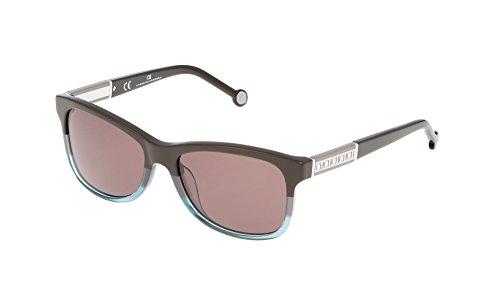 Carolina Herrera SHE594550AM5 Gafas de sol, Azul, 55 para Mujer