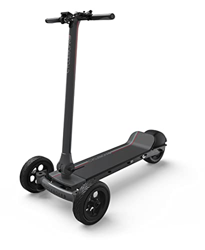 Cycleboard Elite Pro Electric Scooter | 27 MPH, 25 Miles Range, 25% Incline, Fast Scooter, Foldable and Powerful Scooter for Adults - Carbon Grey