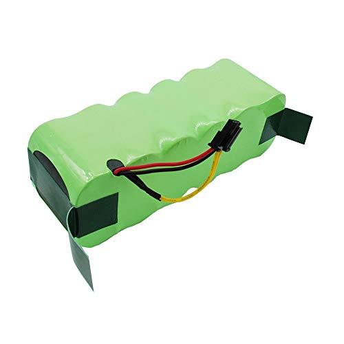 cellePhone Akku NI-MH kompatibel mit Ecovacs Deebot CR120 KK-8 X500 - Ariete Briciola 2711 2712 2713 2717 (Ersatz für LP43SC2000P)