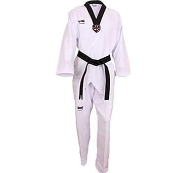 KSD Korea Kukkiwon Taekwondo Uniform Fighter Dan Dobok TKD WTF Tae Kwon Do  170  160cm~170cm  5.24ft~5.57ft