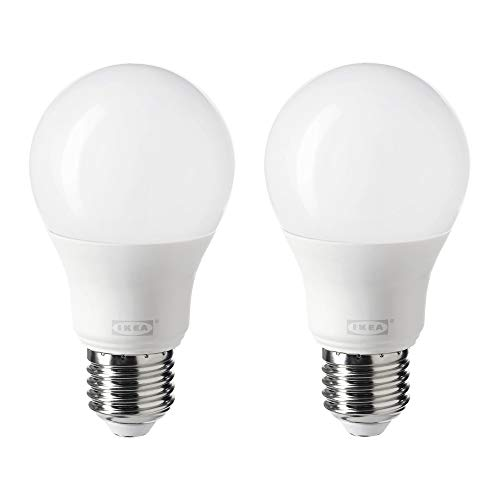 Ikea Tradfri - Bombilla LED E27, 806 lúmenes, 2700 K, 904.087.97, juego de 2