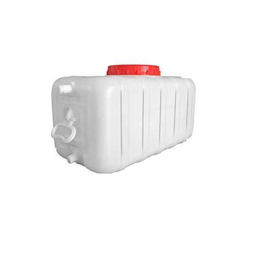 Almacenamiento de agua Tanque Gran Capacidad Jarra de Agua rígida sin BPA para Acampar al Aire Libre Capacidad de Emergencia 25L, 50L, 100L ZLINFE (Size : 25L)