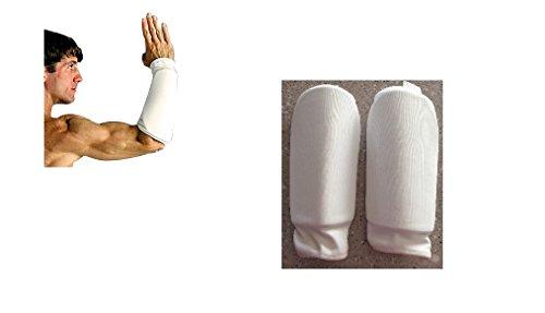 Protezioni per avambracci ProForce - Bianche - Grandi