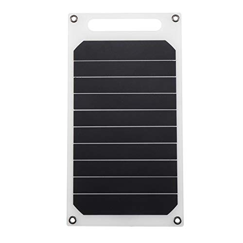 Lixada Solar Ladegerät 10W 5V, Tragbare Solar Powerbank Mini Solarpanel, Für Telefon Autoladegerät Outdoor Camping LED-Licht Alle USB-Schnittstelle-Geräte, 26 * 14 * 3 cm