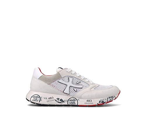 PREMIATA Zaczac 5236 - Zapatillas deportivas para hombre, color blanco Blanco Size: 44 EU