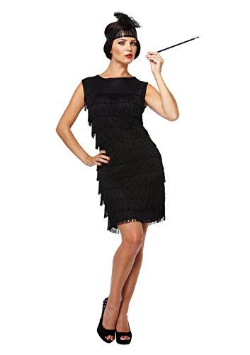 Costume Valeur: Flapper Noir [Jouet]