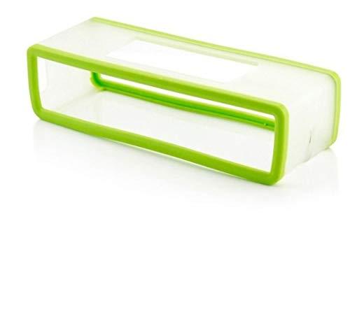 Colorful Für Bose SoundLink Mini Bluetooth Lautsprecher Schutzhülle, Mini Lautsprecher Silikon Tragetasche Travel Box Hülle Case Schutz für Bose SoundLink Mini Bluetooth Lautsprecher (Grün)