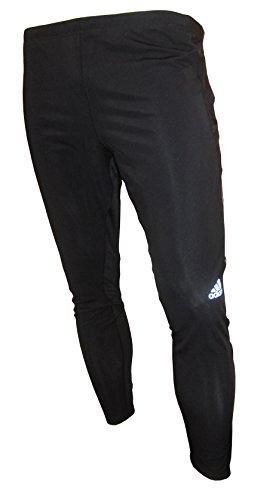 adidas z26392da Corsa Aderenti da Uomo, Black/Tech Onix F12, 2X L