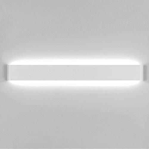 lampadario camera da letto a parete Yafido Applique da Parete Interno Moderno 90CM LED Lampada da Parete 30W Bianco Freddo Lampada Muro Perfetto per Camera da Letto Soggiorno Corridoio Bagno Scale