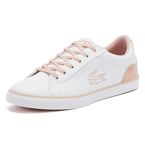Lacoste Lerond White 39CUJ0014 Damen-Sneaker, rosa - weiß - Größe: 3M-36