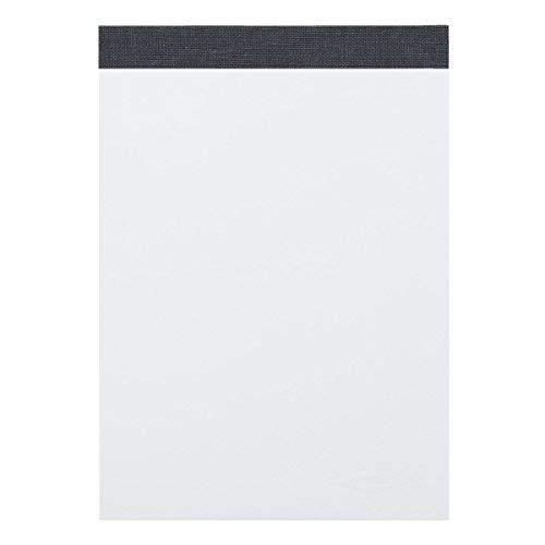 Landre 100050633 - Blocco senza copertina in carta riciclata, DIN A4, 60 g/m², 10 pezzi, 50 fogli, con fori laterali
