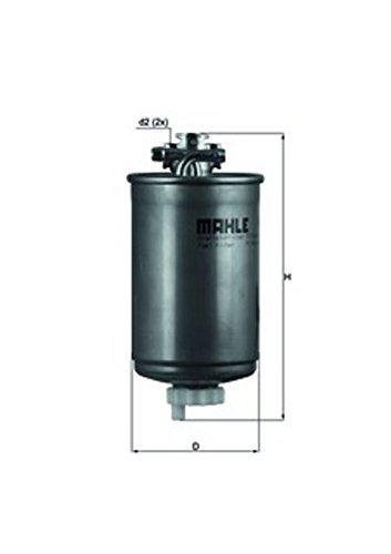 Preisvergleich Produktbild MAHLE Original KL 75 Kraftstofffilter